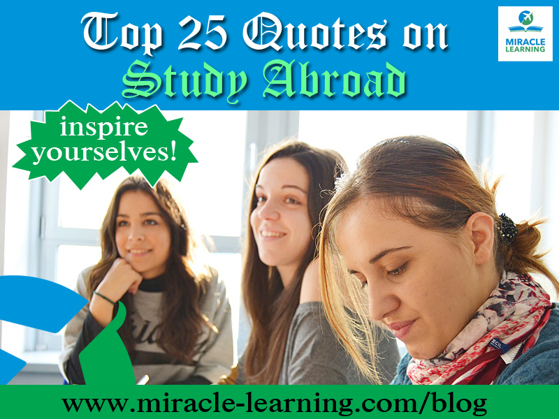 Quotes on Study Abroad